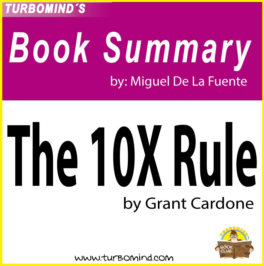 The 10X rule book summary