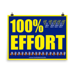 100% EFFORT