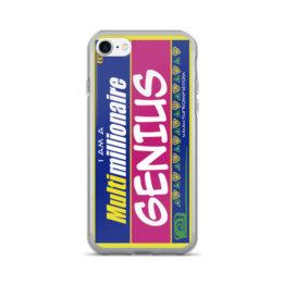"""""""MULTIMILLIONAIRE GENIUS""""-iPhone 7/7 Plus Case"""
