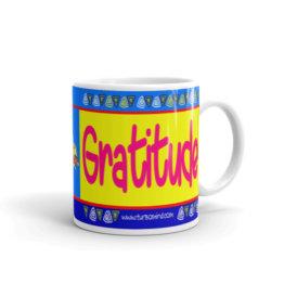 """Gratitude X2"" Mug"