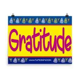 """Gratitude"" Poster Photo paper poster"