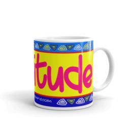"""Gratitude"" Mug"