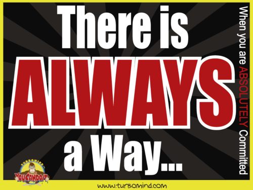 there is always a way, www.turbomind.com