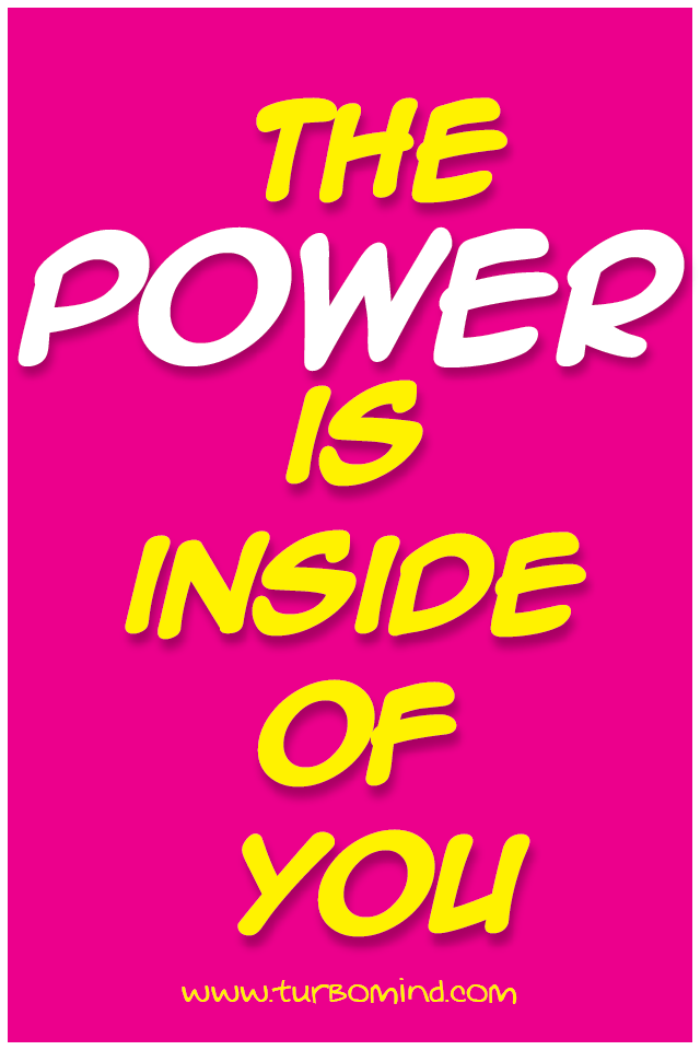 TM, Inspirational Poster of the Day