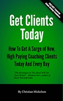 """Get clients today"", by Christian Mickelsen, turbomind´s book of the month"