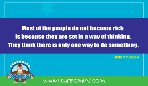 Most People do not become rich becasue