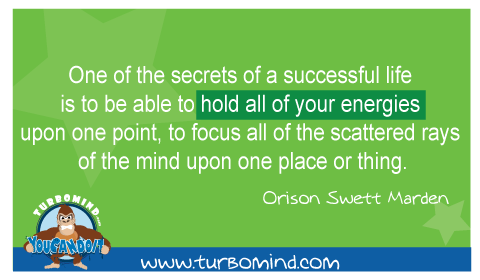 One of the secrets of a successful Life is…..