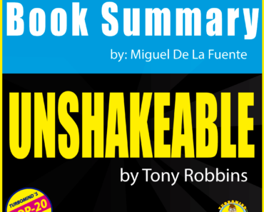 UNSHAKEABLE, turbomind book club-book summary of the week