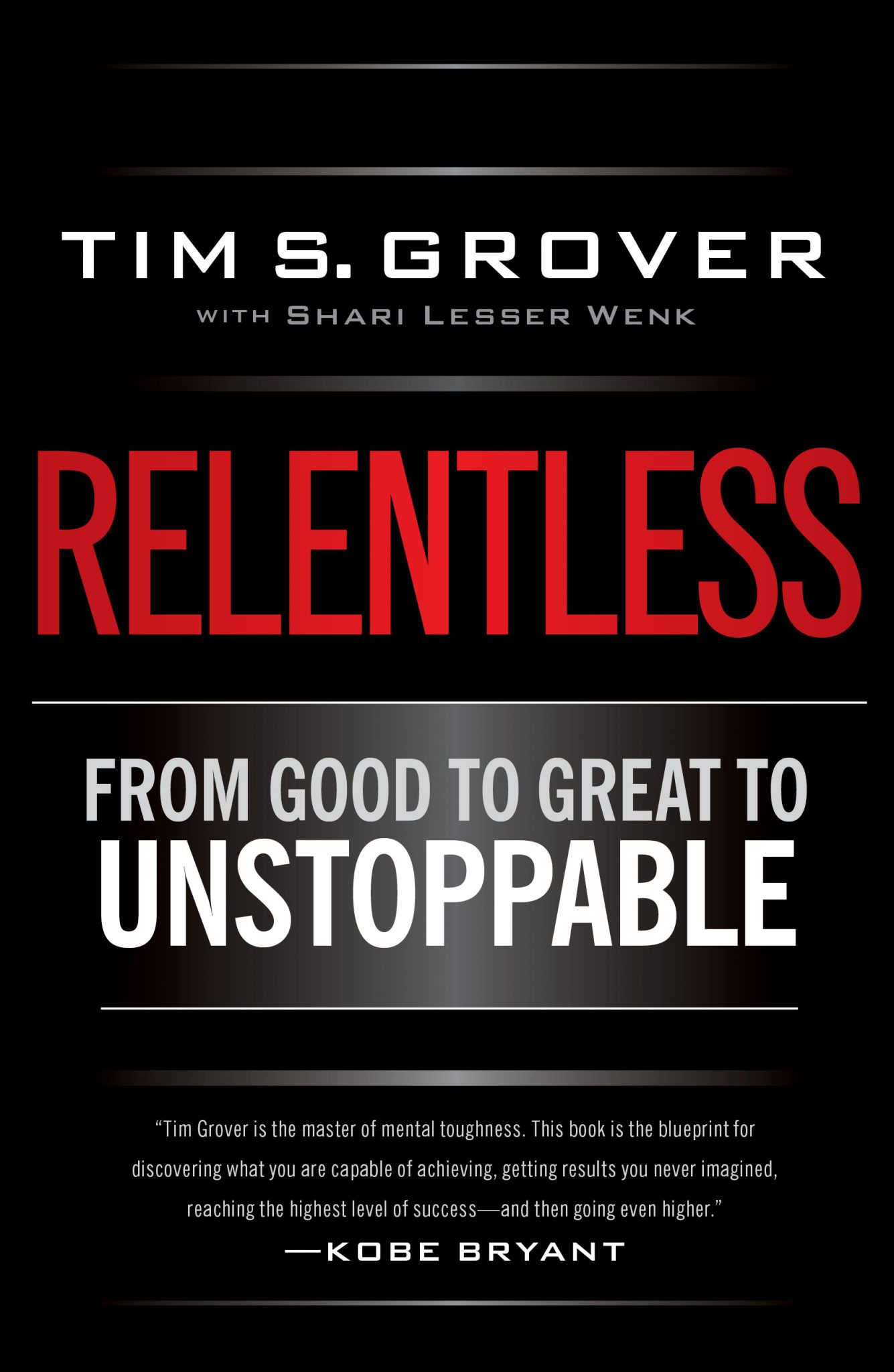 """RELENTLESS"", by TIM S. GROVER Book Summary"