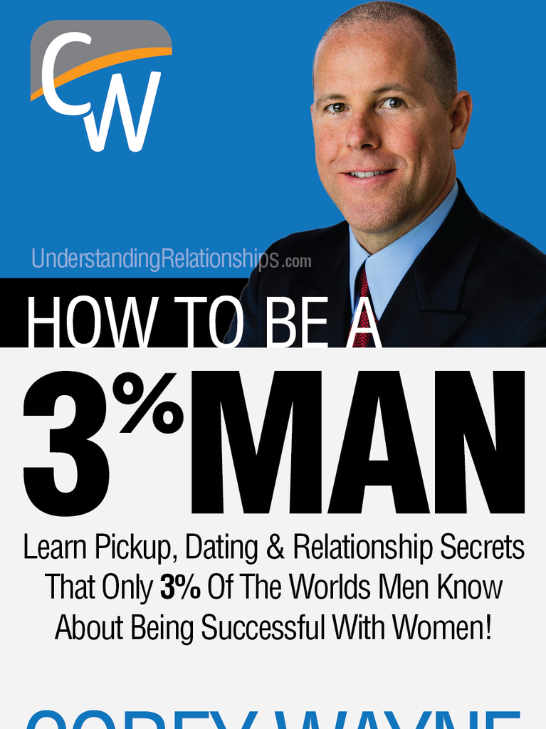 """How to be a 3% MAN"" by Corey Wayne, Book Summary"