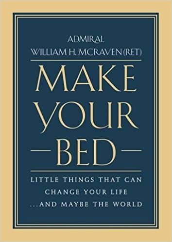 Make Your Bed, by Admiral William H. McRaven, turbomind BookClub, miguel de la fuente, http://www.turbomind.com