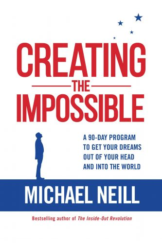 Creating the Impossible, by Michael Neill, turbomind.com BookClub, miguel de la fuente, https://www.turbomind.com