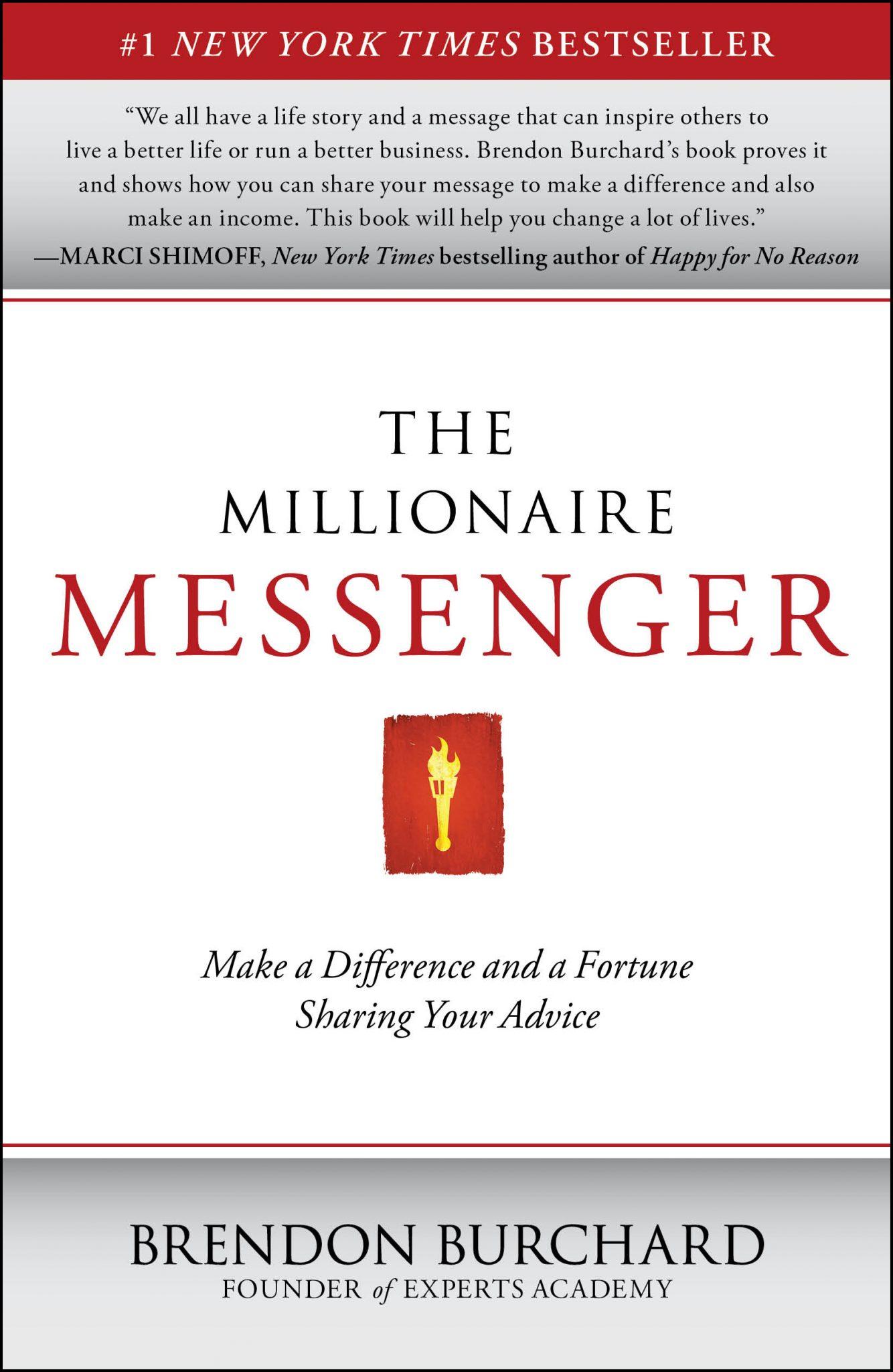 Millionaire Messenger, Brendon Burchard