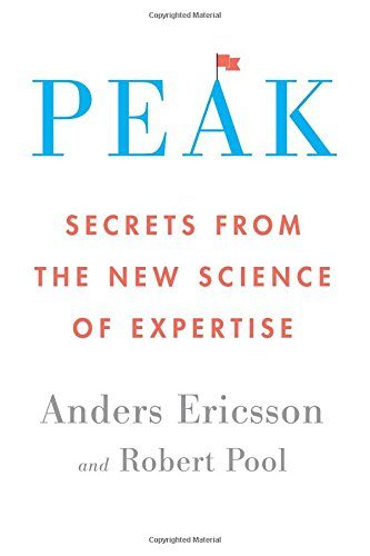 PEAK by Anders Erickson and Robert Pool, TopIdeas from the Book, turbomind book club, miguel de la fuente, https://www.turbomind.com