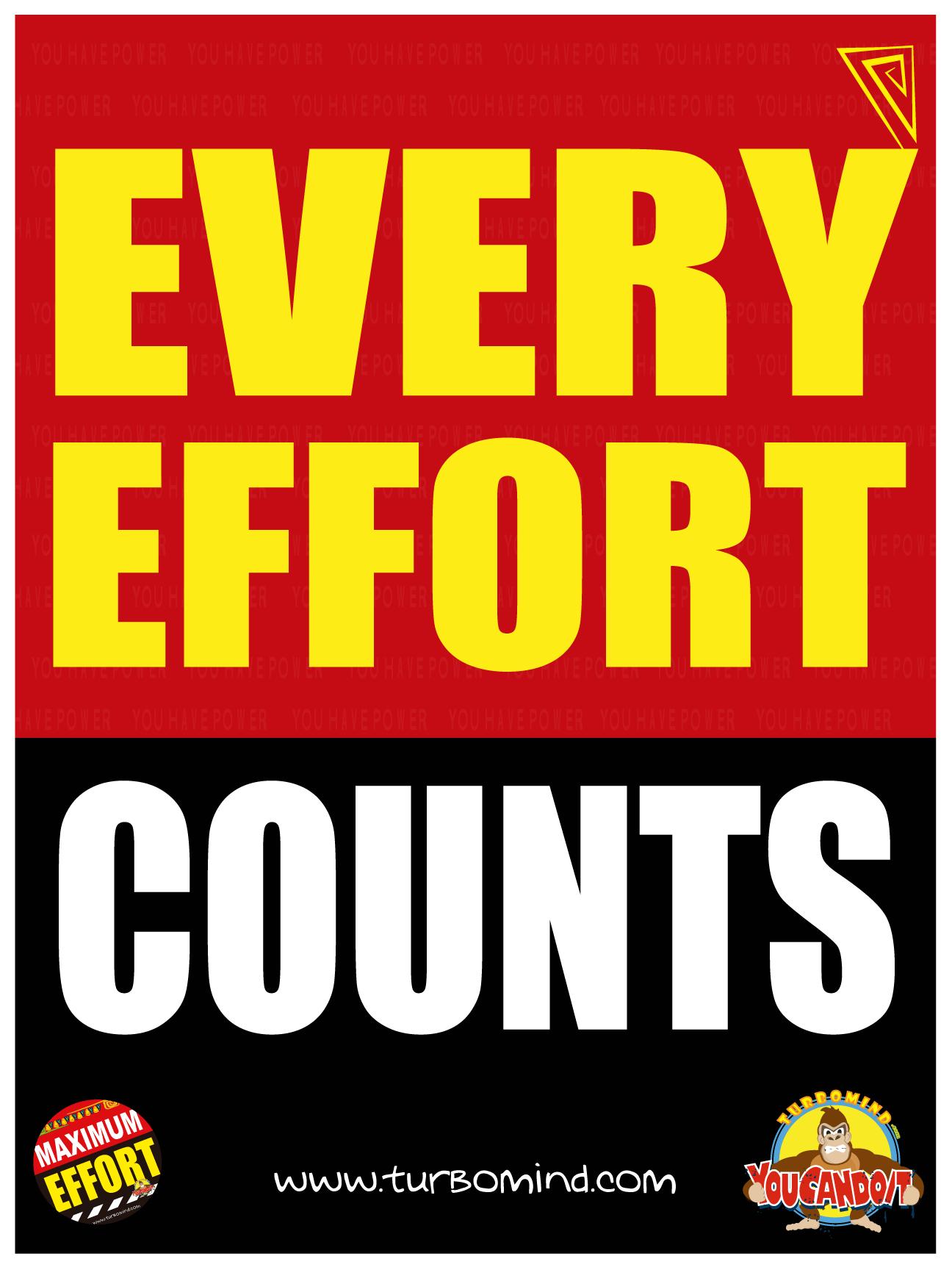 EVERY EFFORT COUNTS
