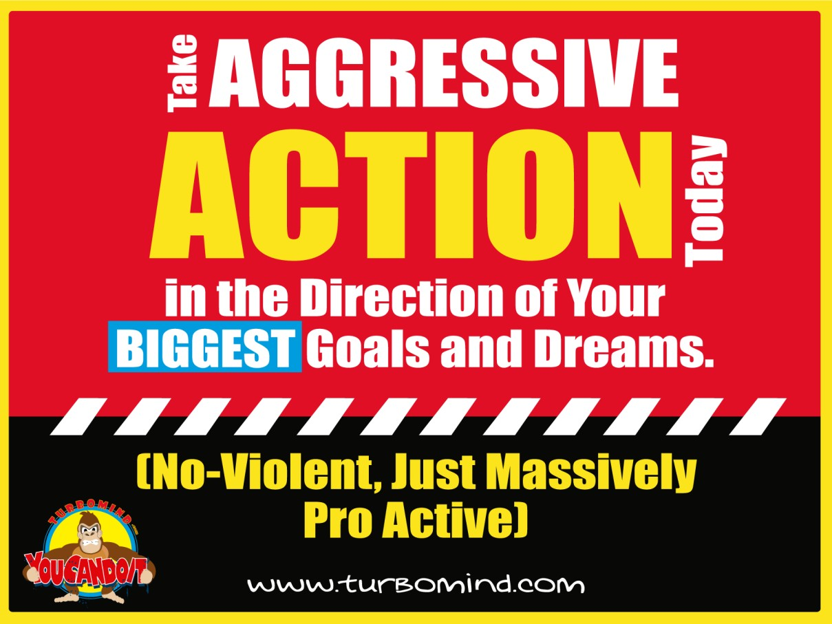 Take Agresive Action Today, turbomind.com