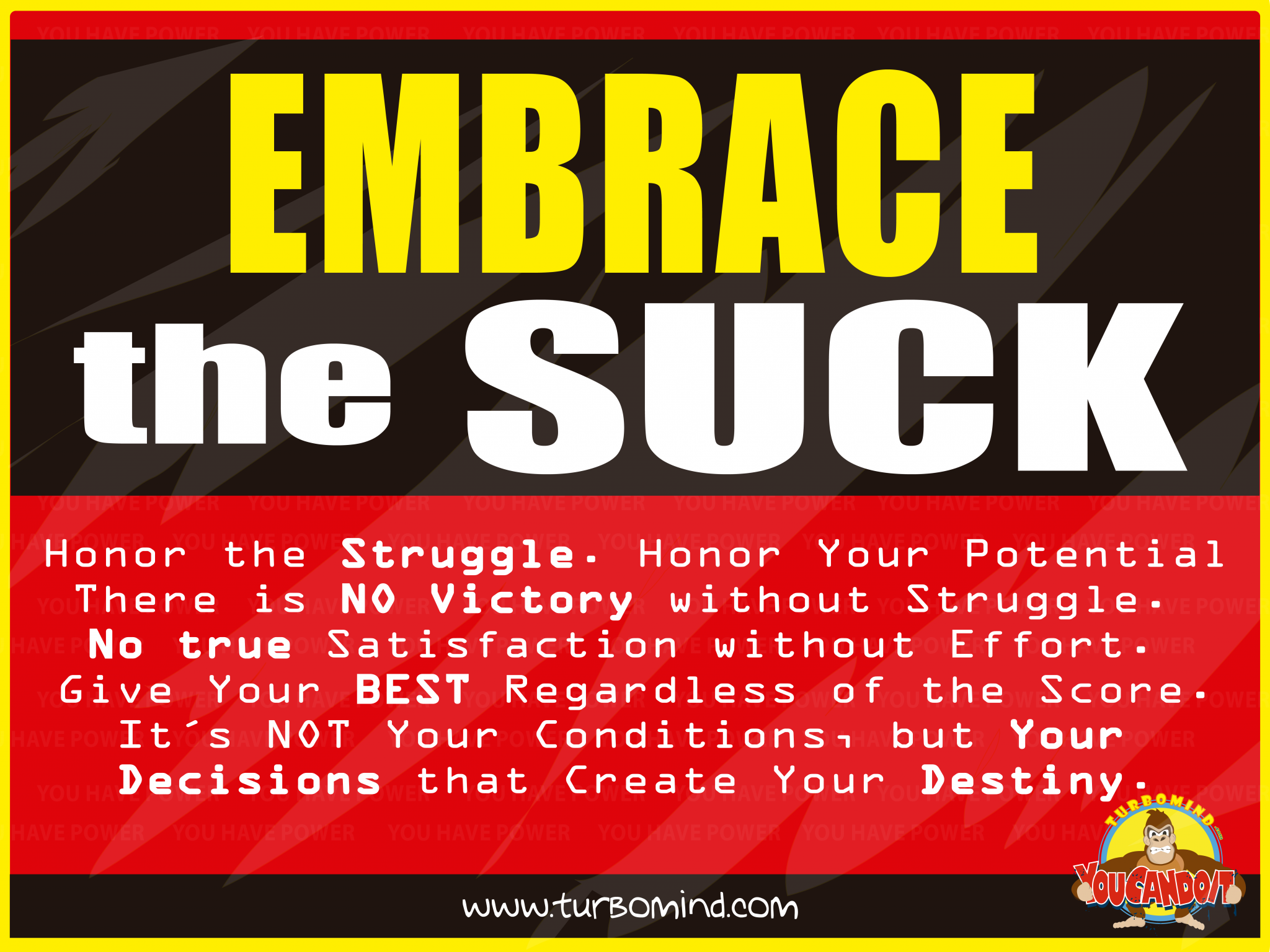 Embrace the Suck, https://www.turbomind.com/