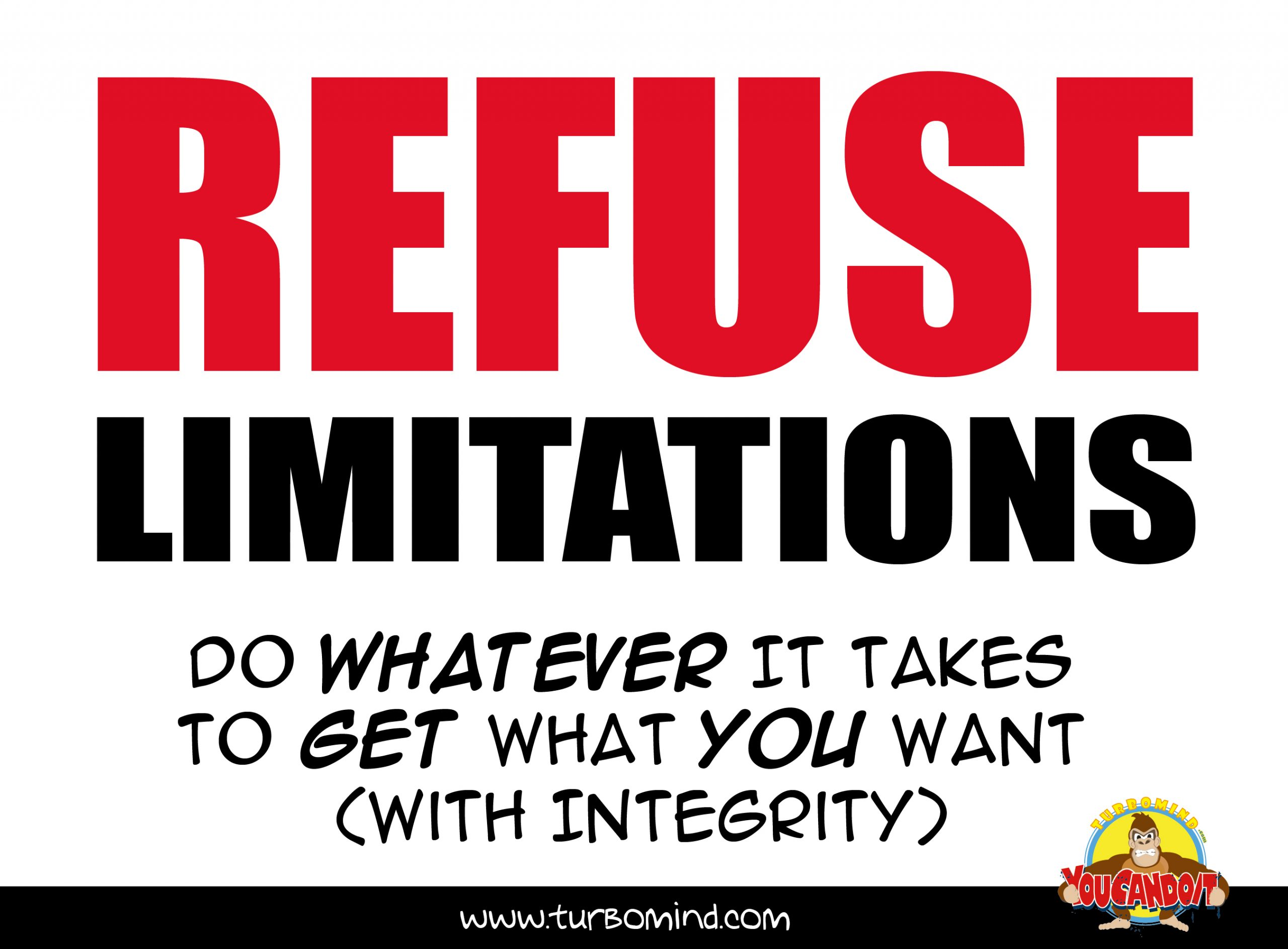 """TurboMind Inspiration Accessories, """"Refuse Limitations"""", https://www.turbomind.com"""