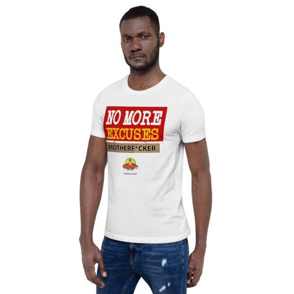 TurboMind.com Empowering T-Shirts. No MORE EXCUSES. Be Unstoppable