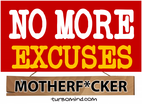 """TURBOMIND #8, """"NO MORE EXCUSES"""" NFT"""