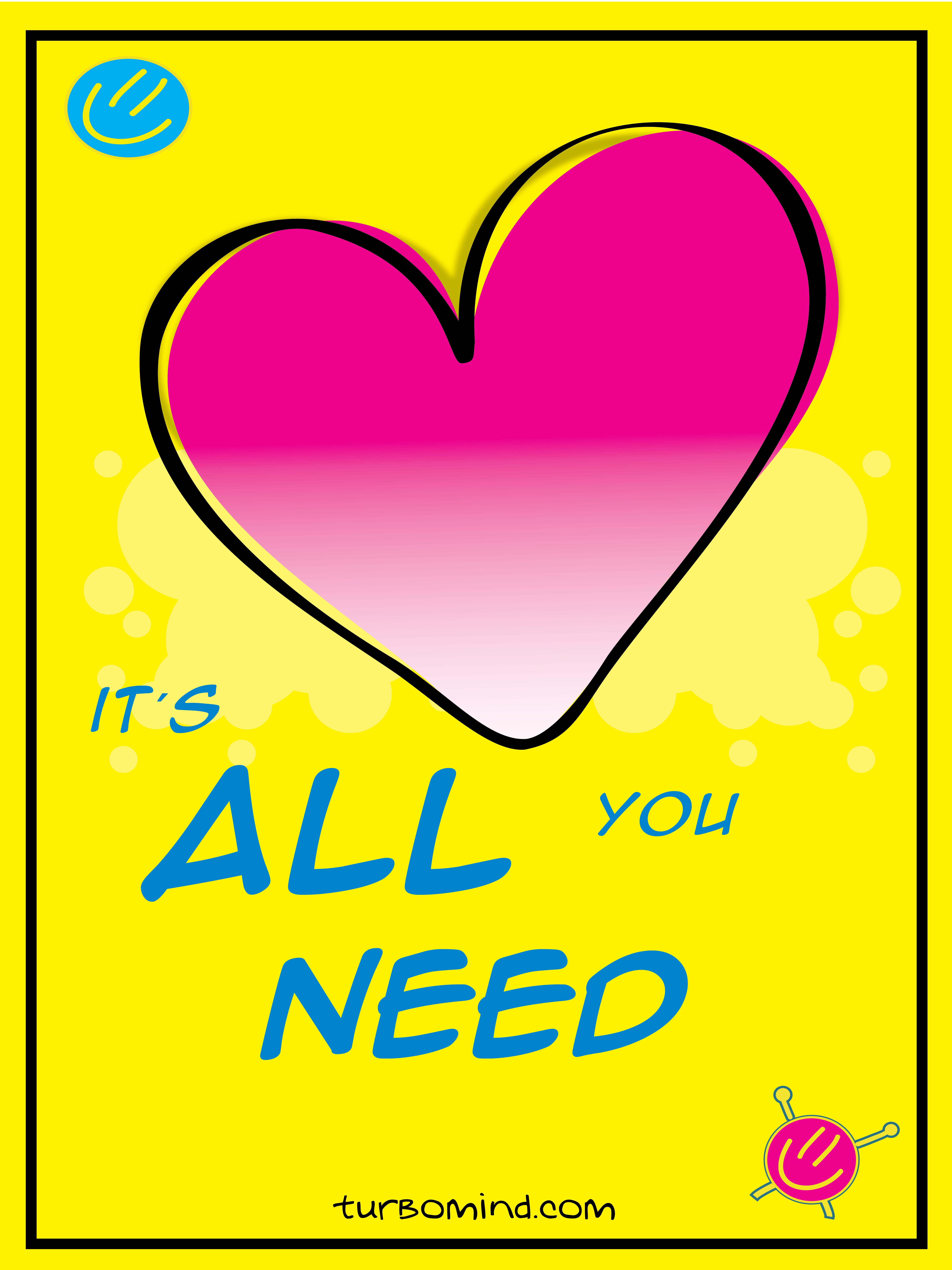 """TURBOMIND #5, """"LOVE IS ALL YOU NEED"""" NFT"""