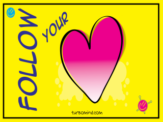 """TURBOMIND #12, """"FOLLOW YOUR HEART"""" NFT"""