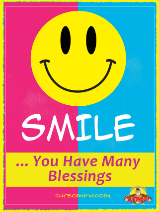 """TURBOMIND #11, """"SMILE YOU HAVE MANY BLESSINGS"""" NFT"""