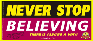 """TURBOMIND #6, """"NEVER STOP BELIEVING"""" NFT"""