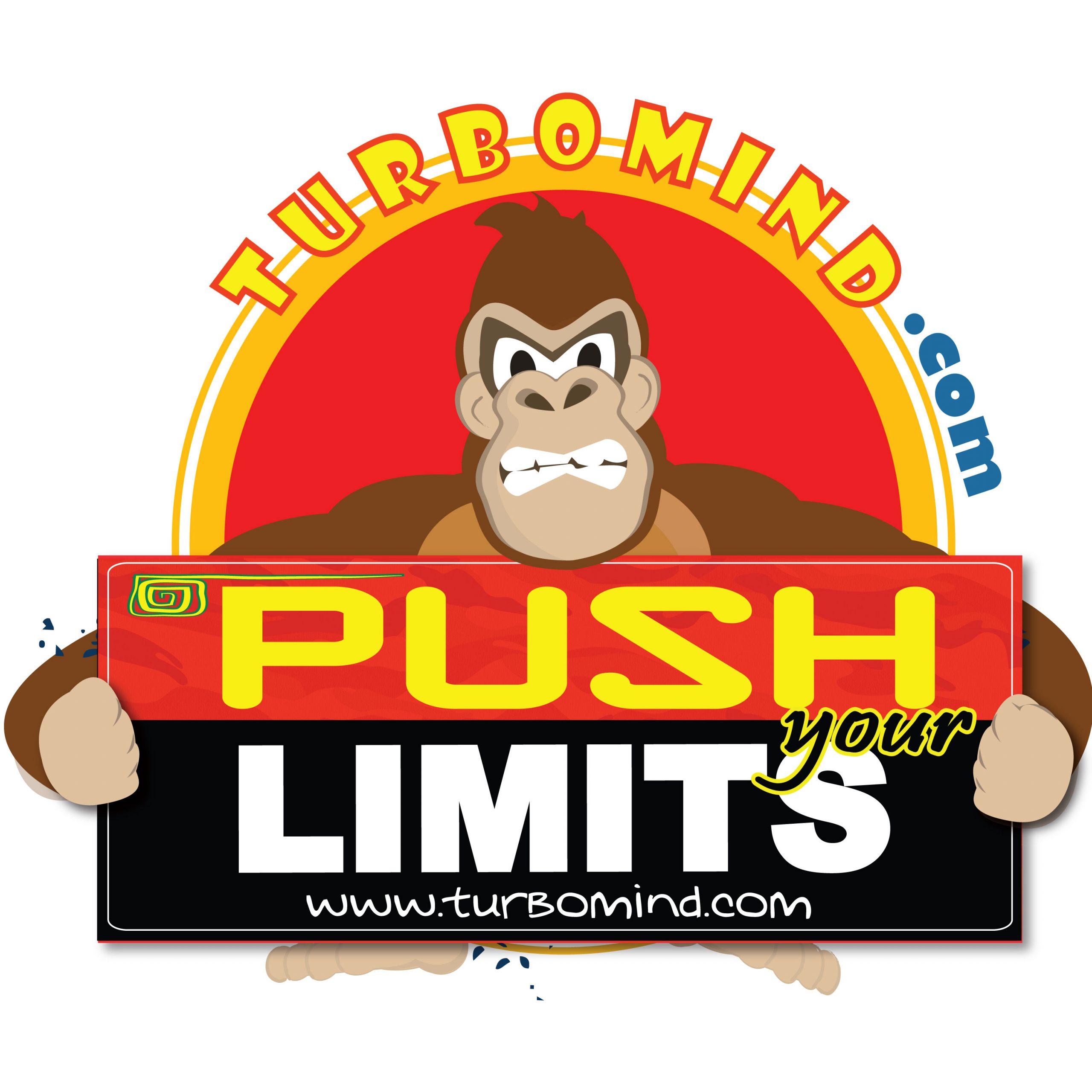 "TURBOMIND #7, ""PUSH YOUR LIMITS"" ANIMATED LOGO NFT"