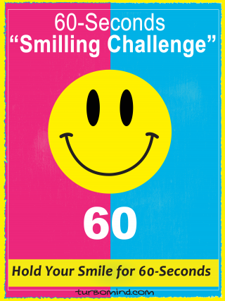 """TURBOMIND #14, """"60-Seconds Smiling Challenge"""""""